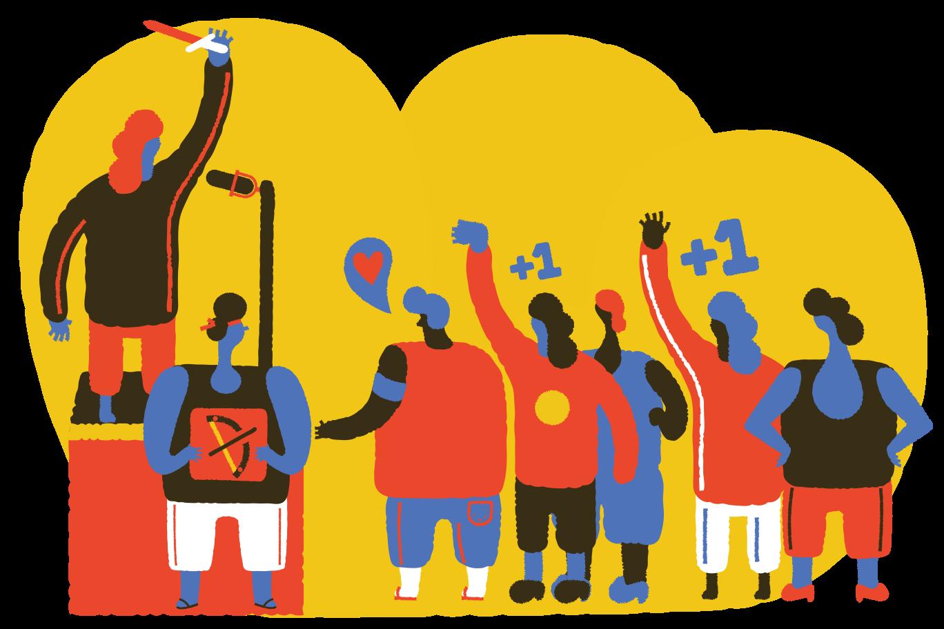 Protests Clipart illustration in PNG, SVG