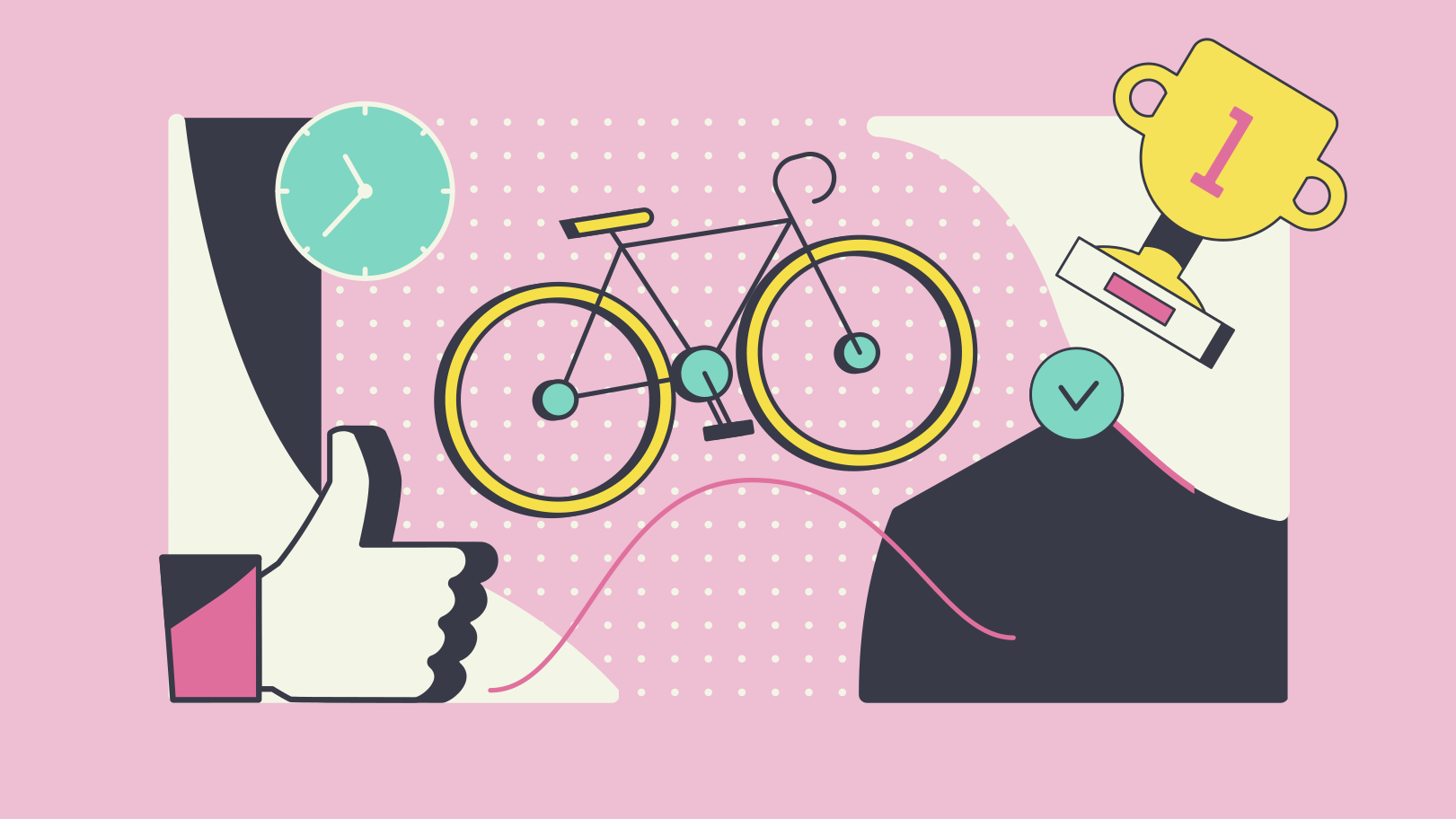 Cycling Clipart illustration in PNG, SVG