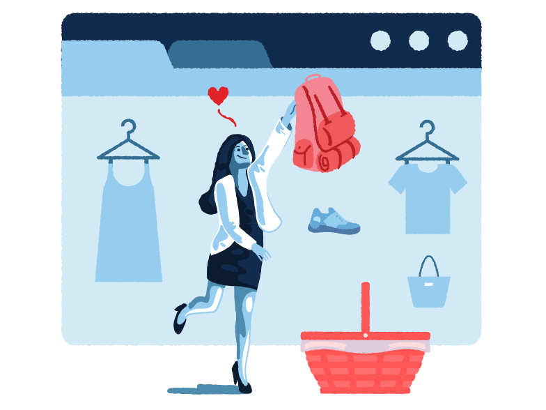 style E-commerce Vector images in PNG and SVG | Icons8 Illustrations