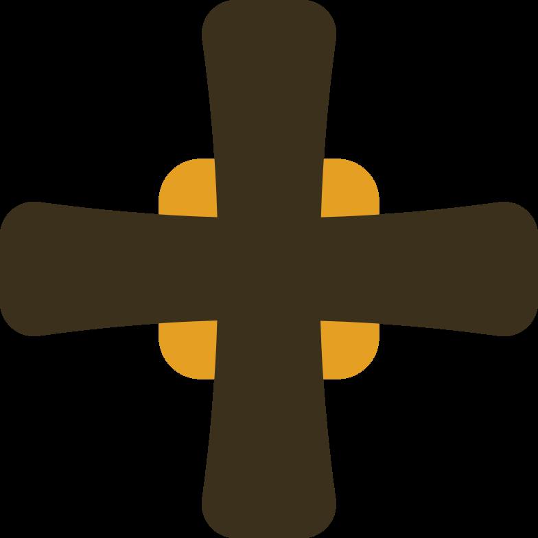 maltese cross Clipart illustration in PNG, SVG