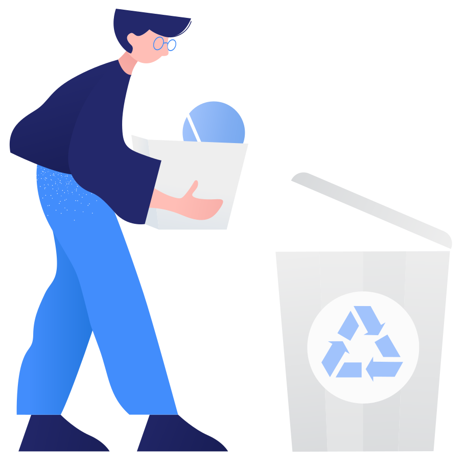 Recyclable waste Clipart illustration in PNG, SVG