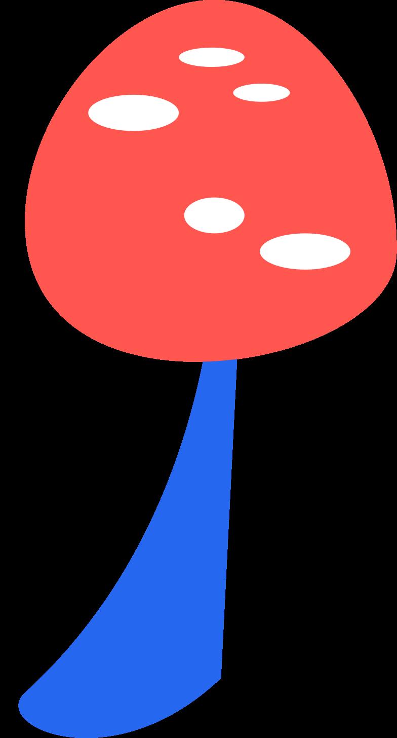 mushroom- Clipart illustration in PNG, SVG