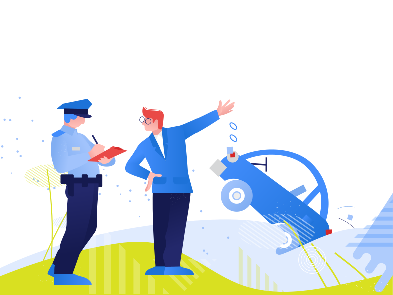 Traffic police Clipart illustration in PNG, SVG