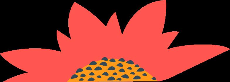 kingdom red flower Clipart illustration in PNG, SVG