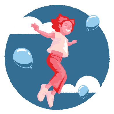 style Jump higher than the sky images in PNG and SVG | Icons8 Illustrations