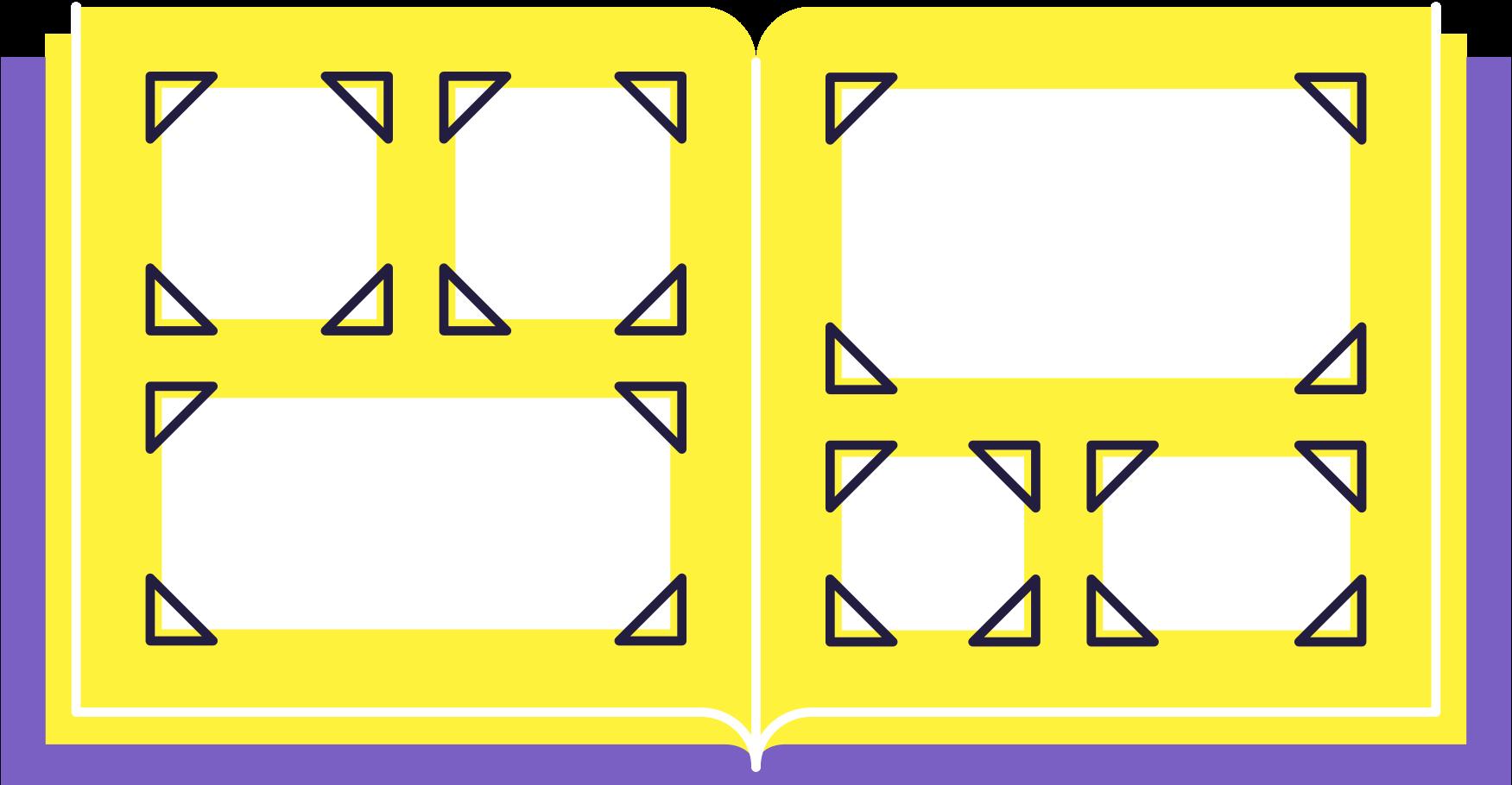 photo album Clipart illustration in PNG, SVG