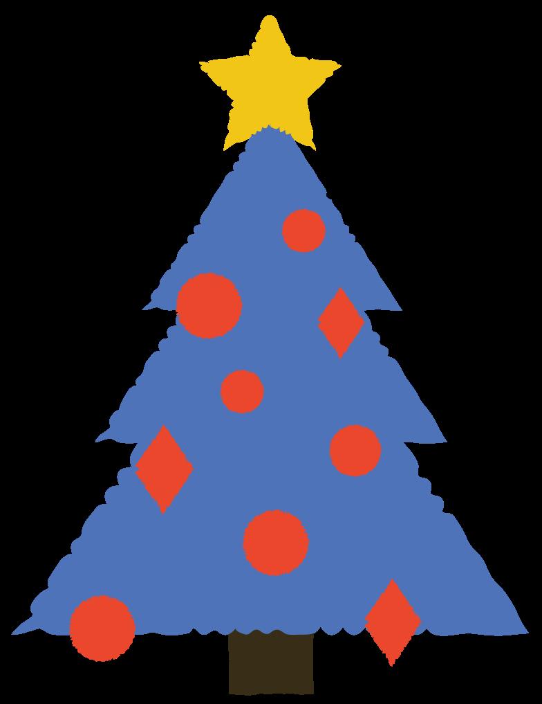 christmas tree Clipart-Grafik als PNG, SVG
