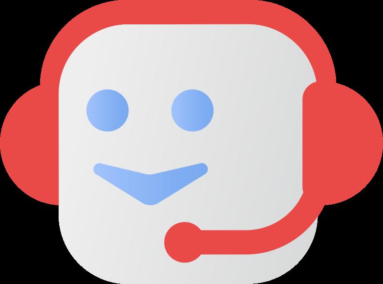voice bot Clipart illustration in PNG, SVG