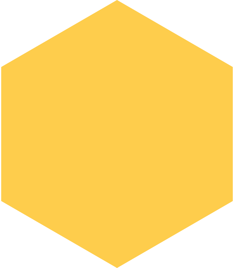 hexagon-yellow Clipart illustration in PNG, SVG