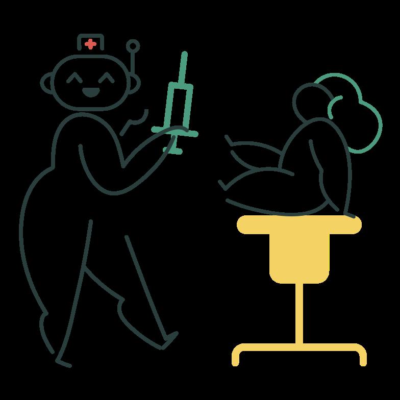 Robodoctor Clipart illustration in PNG, SVG