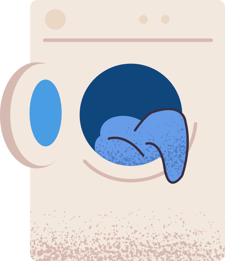 washing-mashine Clipart illustration in PNG, SVG