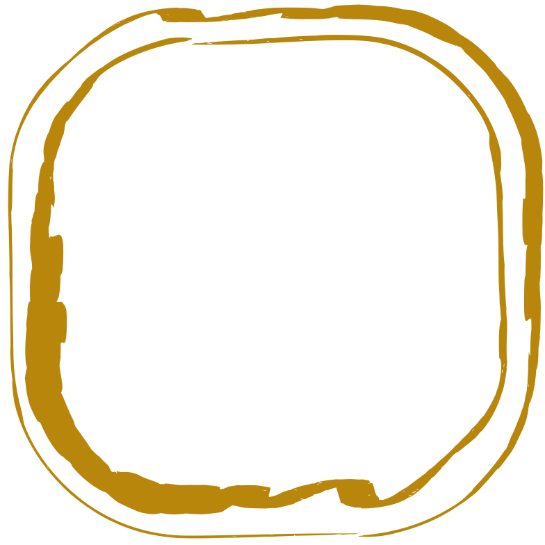 gold rectangle double Clipart illustration in PNG, SVG