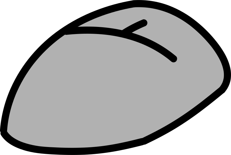 computer mouse Clipart illustration in PNG, SVG