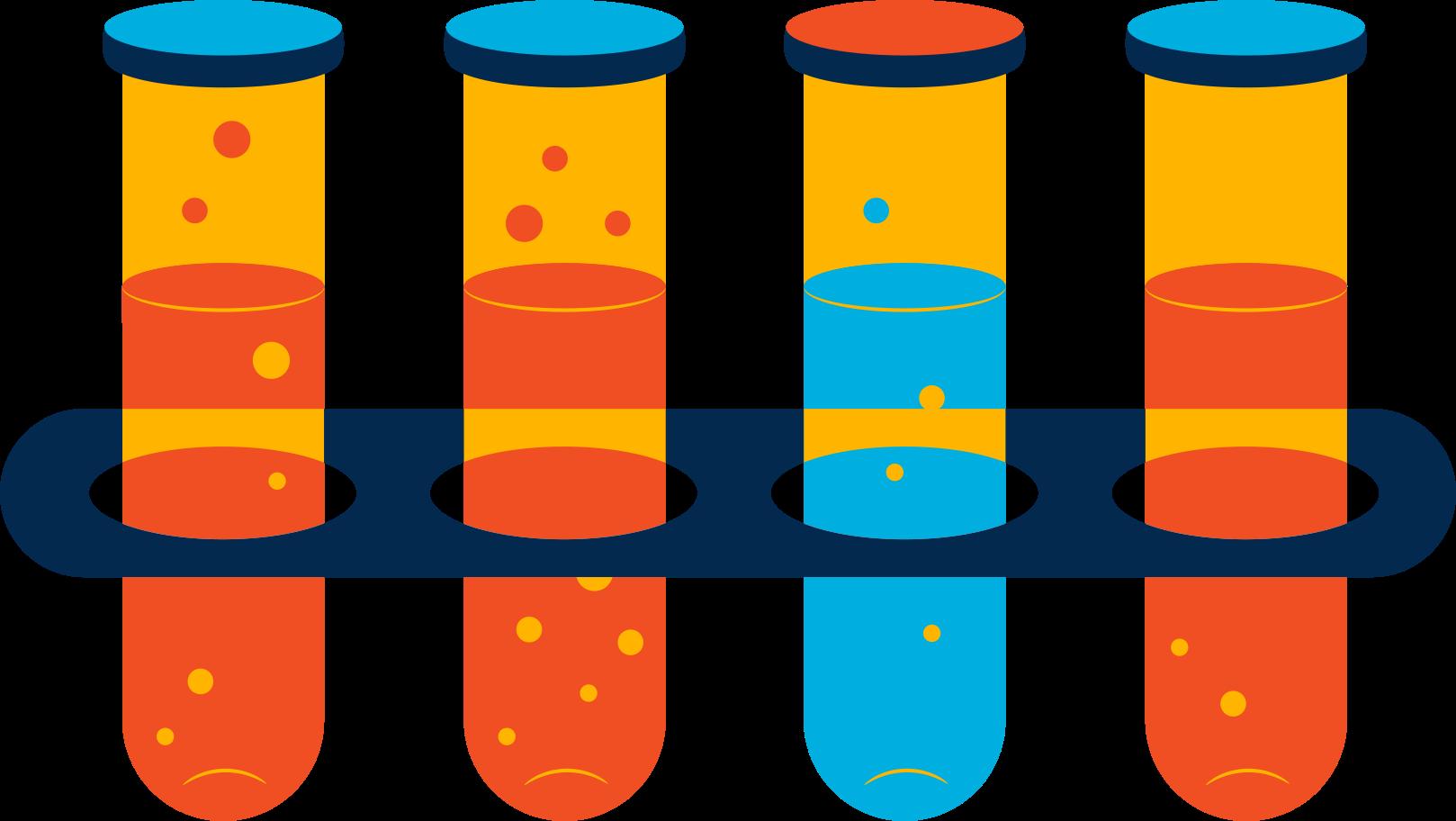 flasks Clipart illustration in PNG, SVG