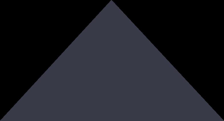 black triagnle Clipart illustration in PNG, SVG