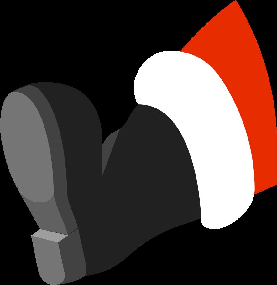 santa-leg Clipart illustration in PNG, SVG