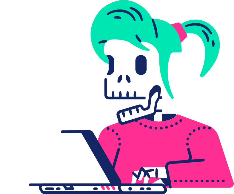 style skeleton girl Vector images in PNG and SVG | Icons8 Illustrations