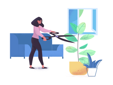 style Gardener for home plants images in PNG and SVG | Icons8 Illustrations