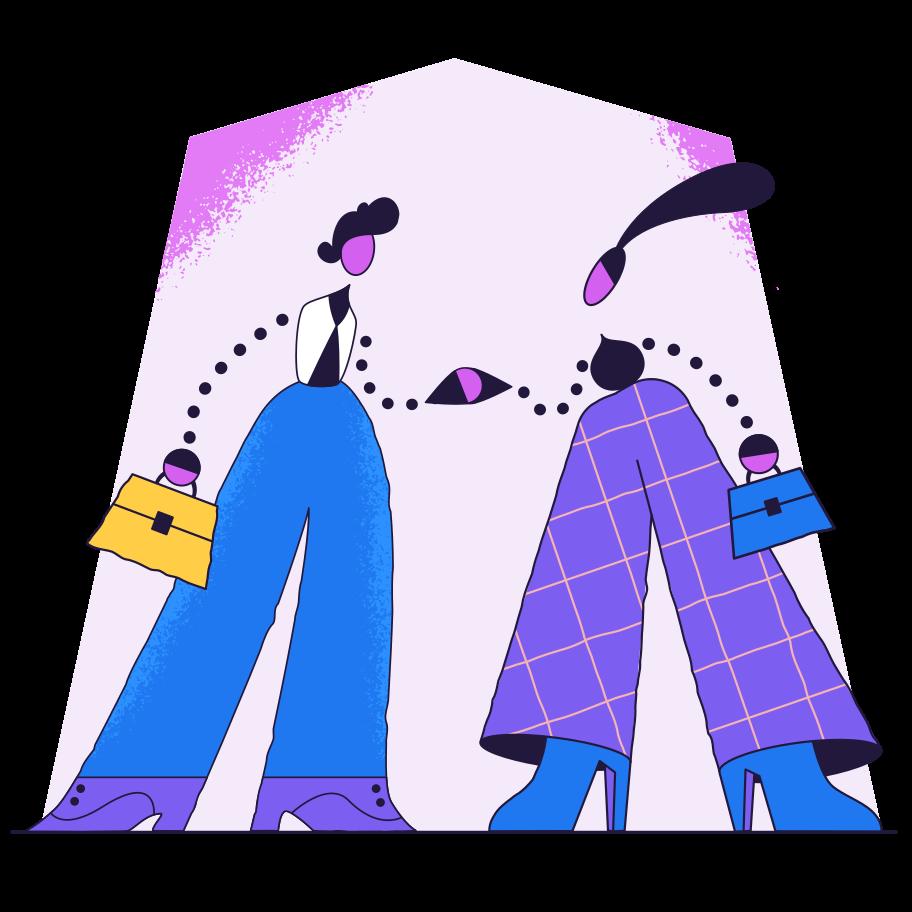 Make a deal Clipart illustration in PNG, SVG