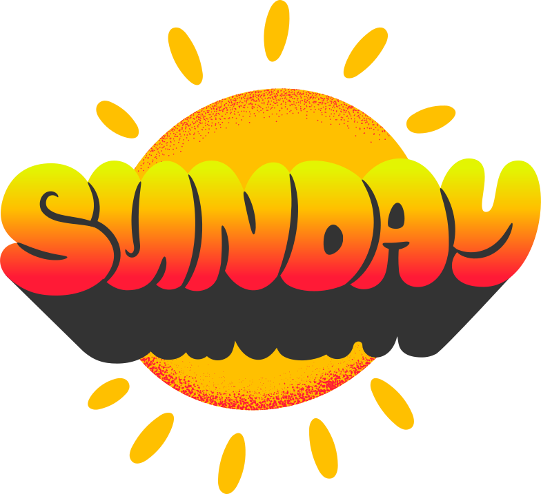 sunday Clipart illustration in PNG, SVG