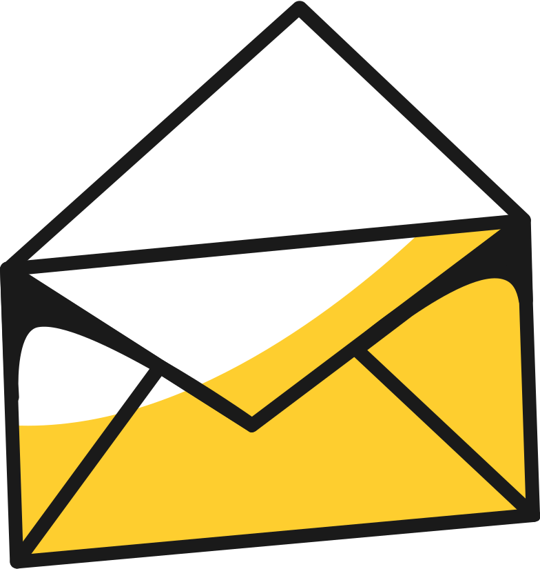 envelope with rope Clipart illustration in PNG, SVG