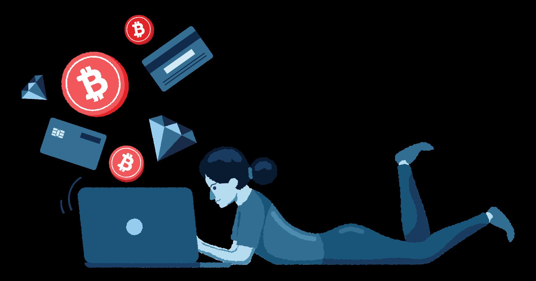 Ilustración de clipart de Banco virtual en PNG, SVG