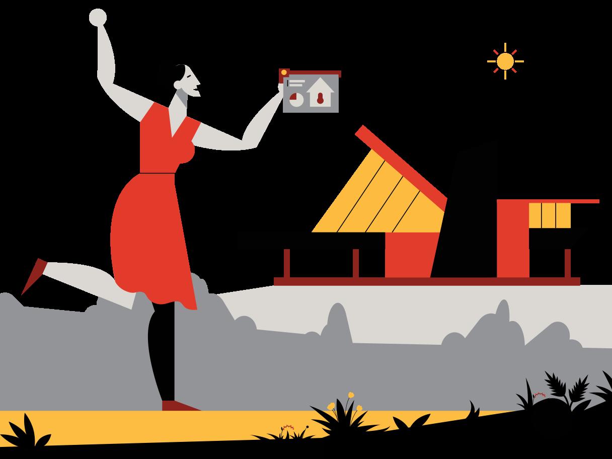 Smart Home Clipart illustration in PNG, SVG
