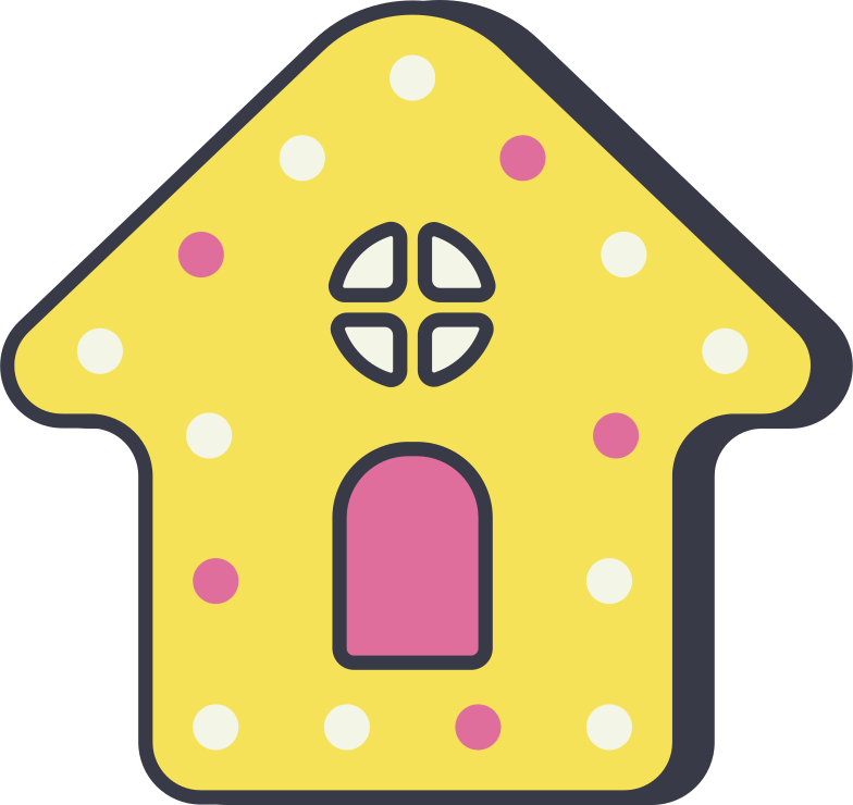 gingerbread house Clipart illustration in PNG, SVG