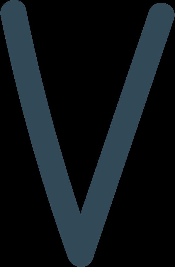 v dark blue Clipart illustration in PNG, SVG