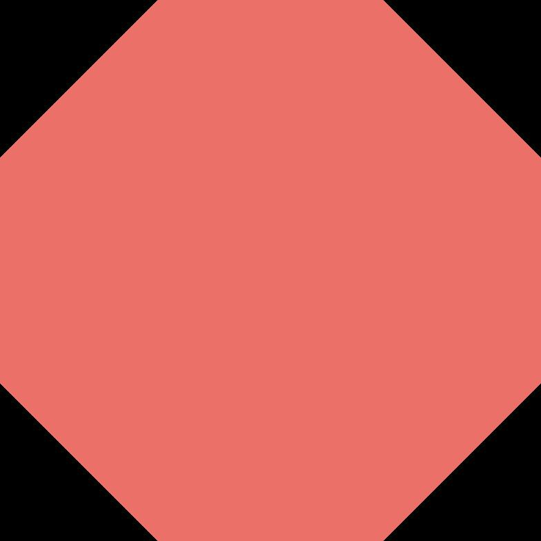 octagon pink antique Clipart illustration in PNG, SVG