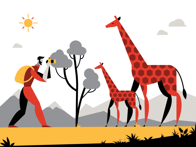 style Safari Vector images in PNG and SVG | Icons8 Illustrations