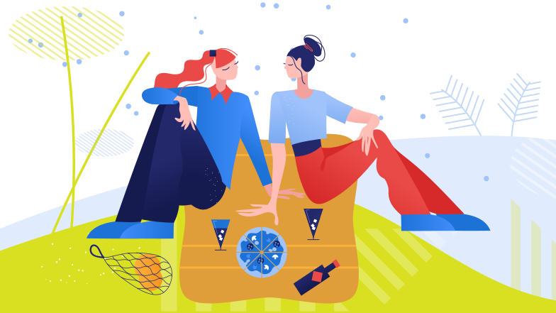 style Picnic with loved one Vector images in PNG and SVG | Icons8 Illustrations