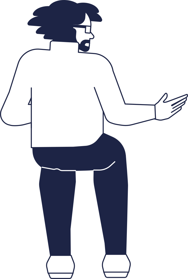 style man sitting back view Vector images in PNG and SVG | Icons8 Illustrations