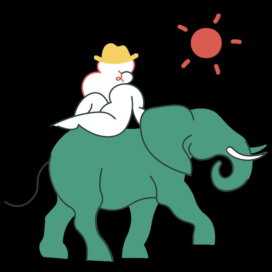 Travelling Clipart illustration in PNG, SVG