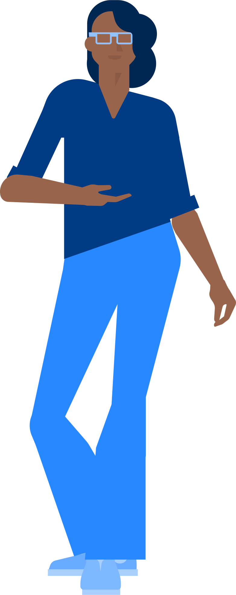 shopping woman Clipart illustration in PNG, SVG