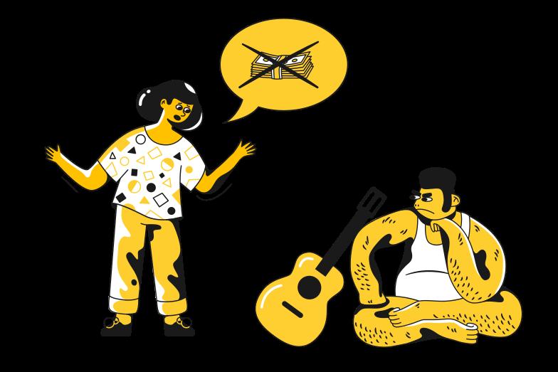 No money Clipart illustration in PNG, SVG