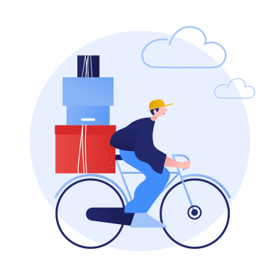 style Eco friendly delivery images in PNG and SVG | Icons8 Illustrations
