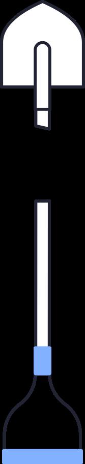 shovel crop Clipart illustration in PNG, SVG