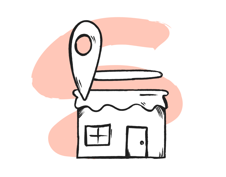 Seo business location Clipart illustration in PNG, SVG