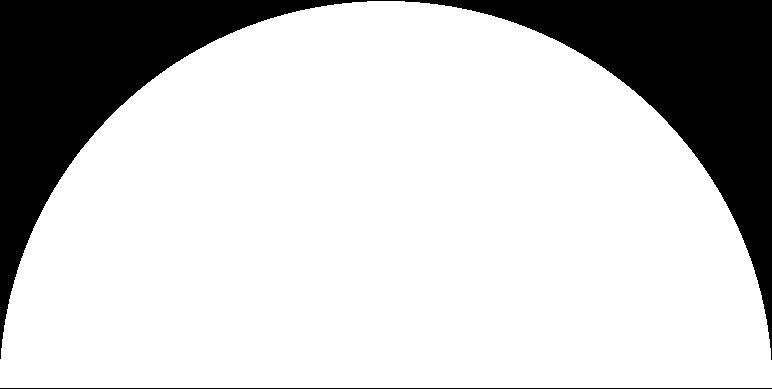Ilustración de clipart de semicircle white en PNG, SVG