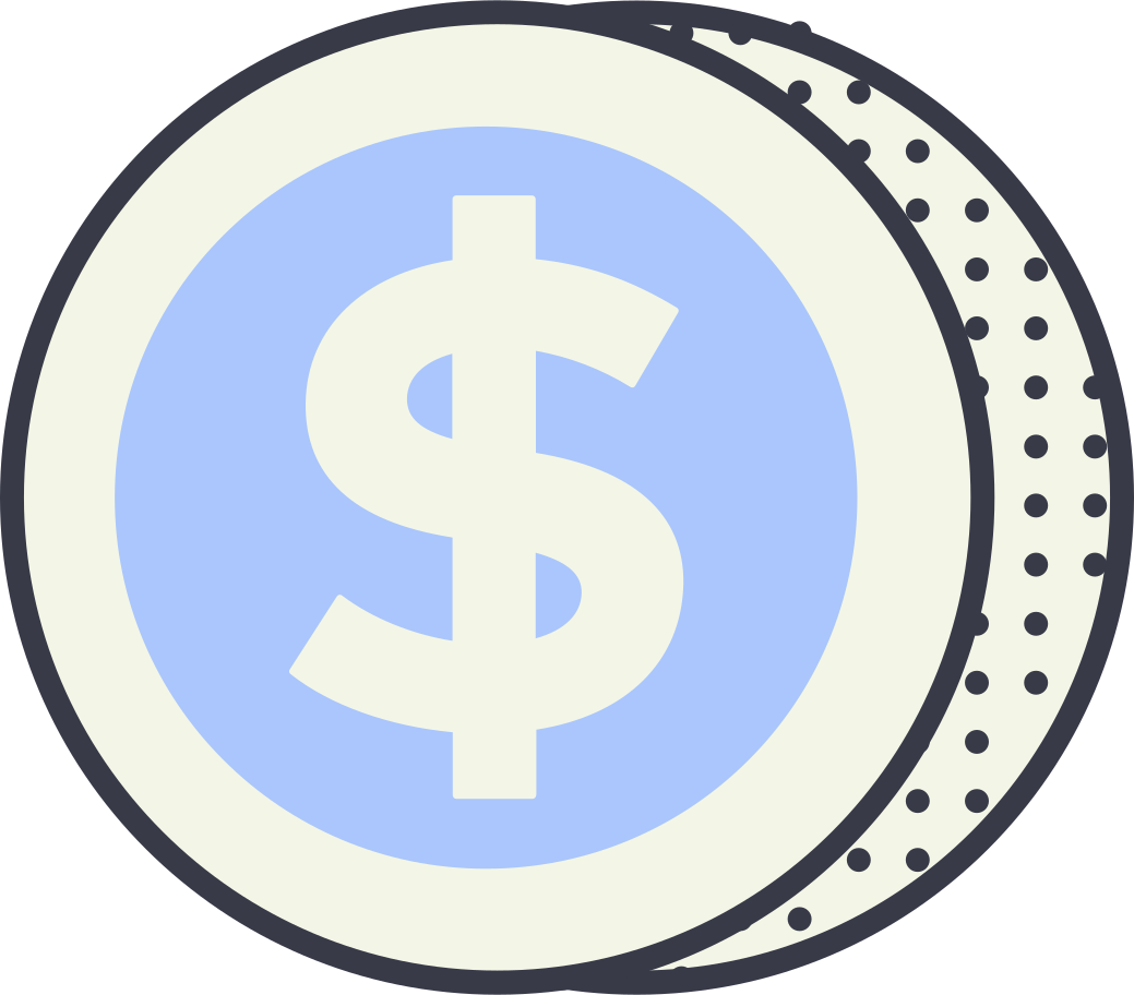 dollar Clipart illustration in PNG, SVG