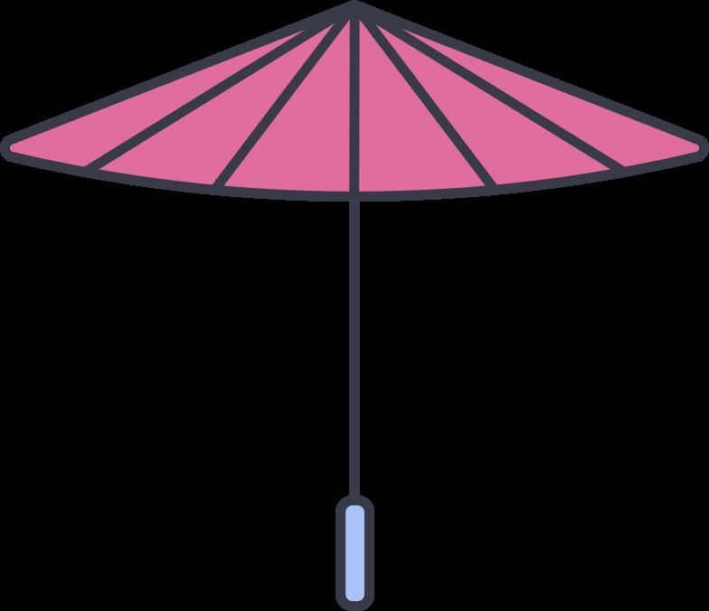 parasol Clipart illustration in PNG, SVG