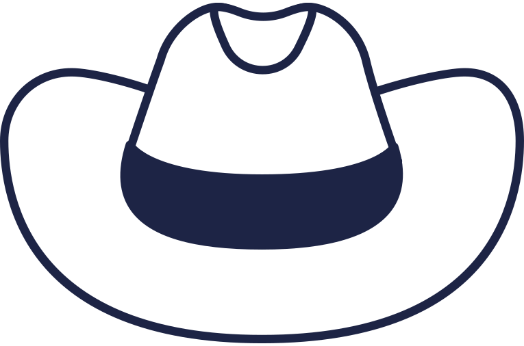 style cowboy hat line Vector images in PNG and SVG | Icons8 Illustrations