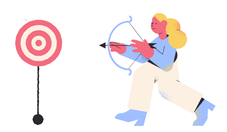 Archery Clipart illustration in PNG, SVG
