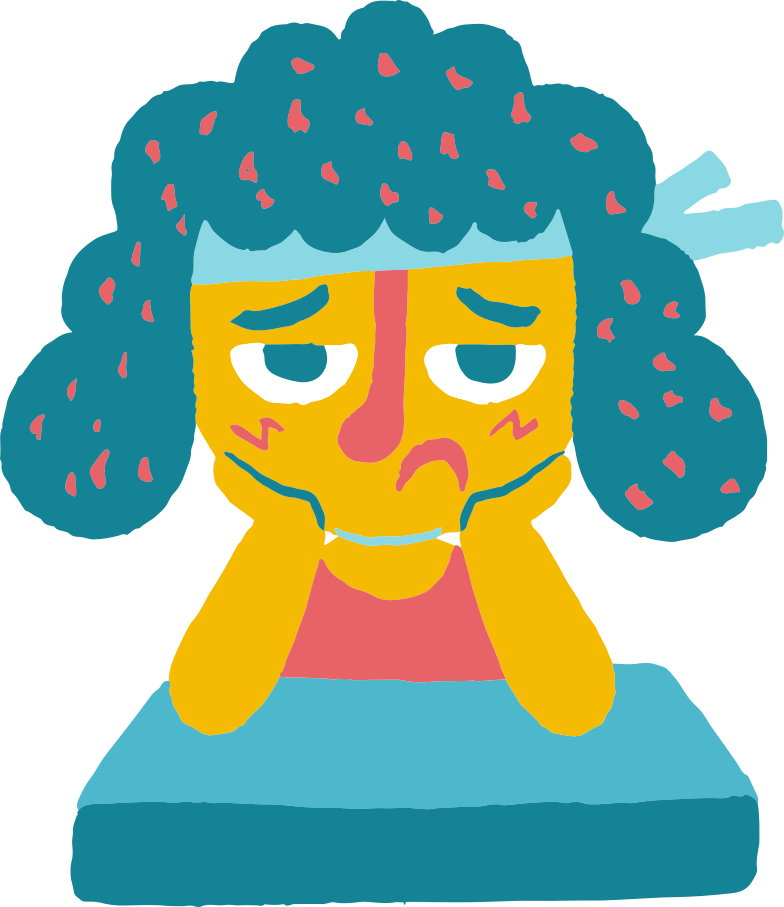 style sad girl Vector images in PNG and SVG | Icons8 Illustrations
