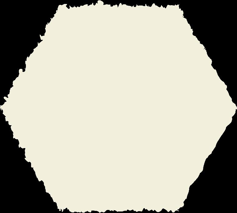 hexagon beige Clipart illustration in PNG, SVG