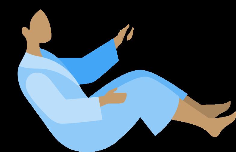 Ilustración de clipart de woman with tv remote control en PNG, SVG