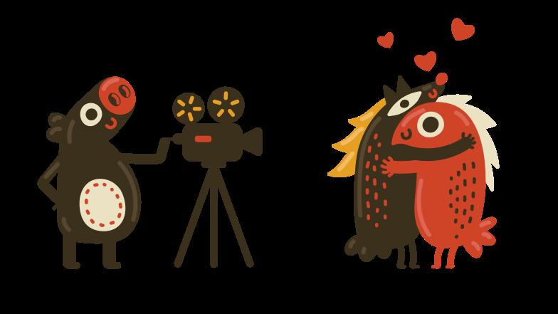 Filmmaking Clipart illustration in PNG, SVG