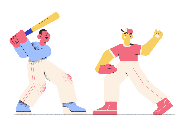 style Playing ball with the friend Vector images in PNG and SVG | Icons8 Illustrations