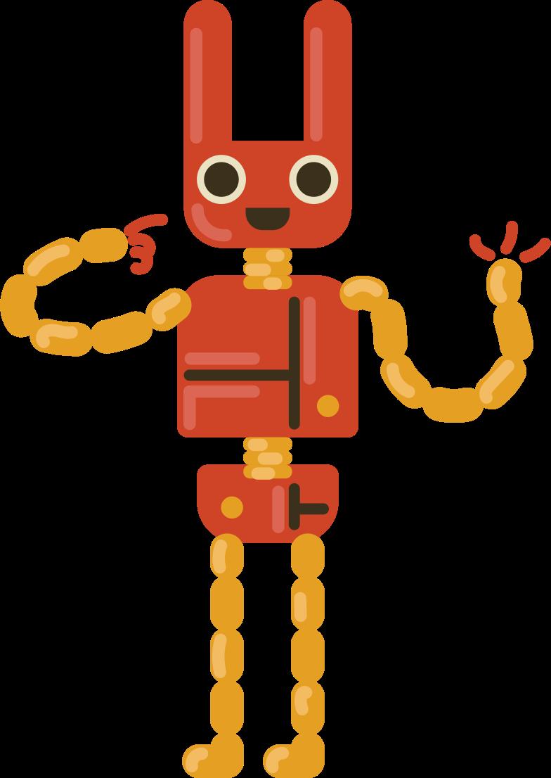 Imágenes vectoriales conejo robot en PNG y SVG estilo  | Ilustraciones Icons8